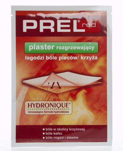 PREL RED - Plaster rozgrzewający - 1 szt. - Apteka internetowa Melissa