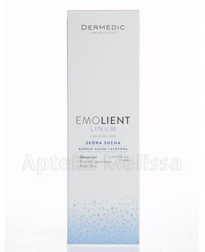 DERMEDIC EMOLIENT LINUM Lotion do ciała - 400 ml - Drogeria Melissa