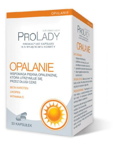 PROLADY Opalanie - 30 kaps. (PRO LADY) - Apteka internetowa Melissa