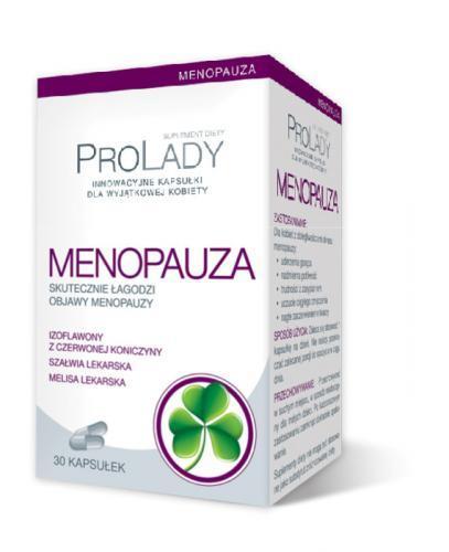 PROLADY MENOPAUZA - 30 kaps. (PRO LADY)  - Apteka internetowa Melissa