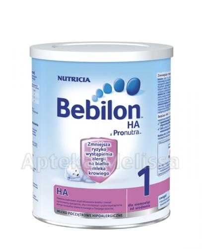 BEBILON 1 HA Z PRONUTRA Mleko modyfikowane w proszku - 400 g