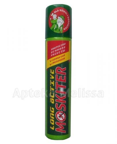MOSKITER LONG ACTIVE Spray na komary i meszki - 100 ml - Apteka internetowa Melissa