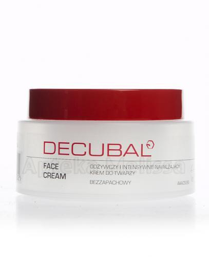 DECUBAL FACE CREAM Odżywczy krem do twarzy - 75 ml  - Apteka internetowa Melissa