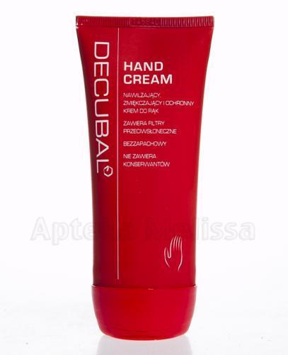 DECUBAL HAND CREAM Nawilżający, zmiękczający i ochronny krem do rąk - 100 ml - Apteka internetowa Melissa