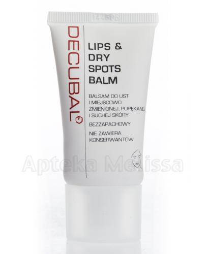 DECUBAL LIPS & DRY SPOTS Balsam do ust i miejscowo zmienionej, popękanej i suchej skóry - 30ml - Apteka internetowa Melissa
