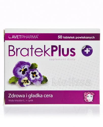 BRATEK PLUS - 50 tabl. - Drogeria Melissa