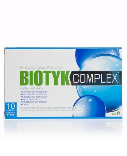 BIOTYK Complex - 10 tabl. - Apteka internetowa Melissa