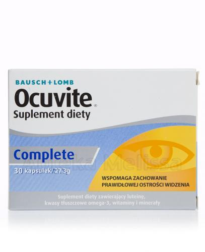 OCUVITE COMPLETE - 30 kaps. - Apteka internetowa Melissa