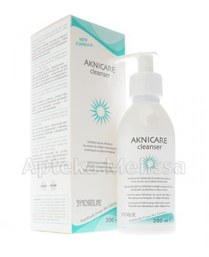 SYNCHROLINE AKNICARE Cleanser Żel oczyszczający do skóry tłustej i trądzikowej - 200 ml  - Drogeria Melissa