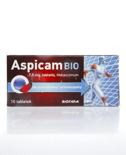ASPICAM BIO 7,5 mg - 10 tabl. - Apteka internetowa Melissa