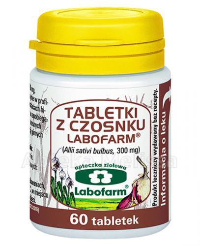 LABOFARM Tabletki z czosnku - 60 tabl.