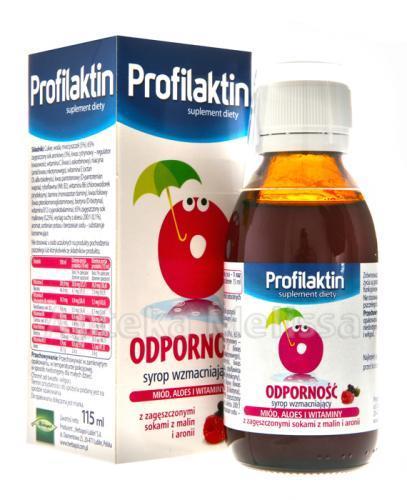 PROFILAKTIN ODPORNOŚĆ Syrop - 115 ml - Apteka internetowa Melissa