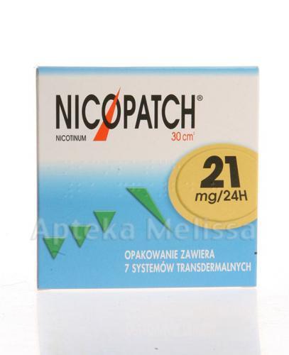 NICOPATCH 21 mg/24h Plastry - 7 szt.  - Apteka internetowa Melissa