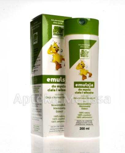 CUTISHELP Mimi emulsja do mycia ciała i włosów - 200 ml