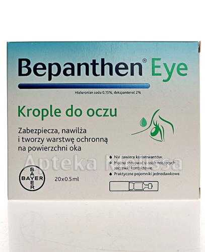 BEPANTHEN EYE Krople do oczu - 20 x 0,5 ml