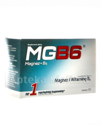 MGB6 - 50 tabl. - Apteka internetowa Melissa