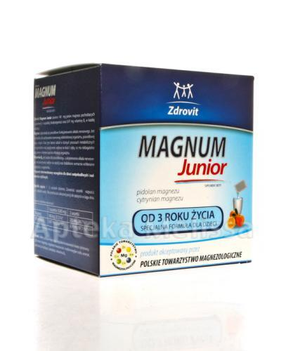 ZDROVIT MAGNUM Junior - 20 sasz. - Apteka internetowa Melissa