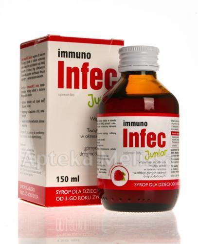 IMMUNOINFEC Junior syrop - 150 ml Data ważności 2020.10.31 - Apteka internetowa Melissa