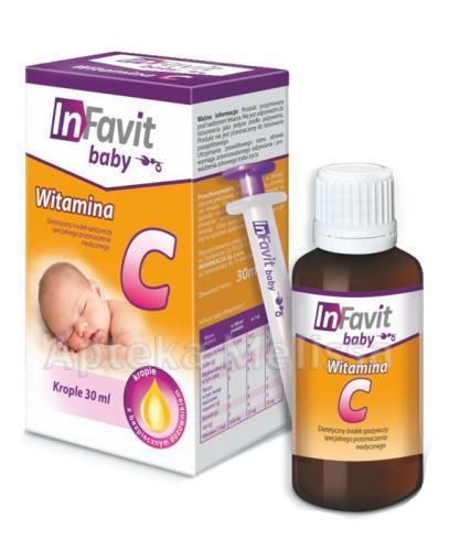 INFAVIT BABY Witamina C - 30 ml  - Apteka internetowa Melissa