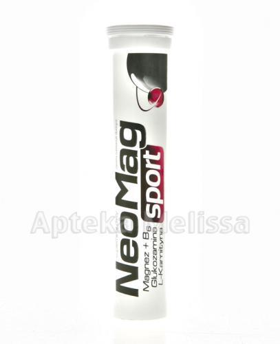 NEOMAG SPORT Magnez+B6+Glukozamina+L-Karnityna - 20 tabl. mus. - Apteka internetowa Melissa