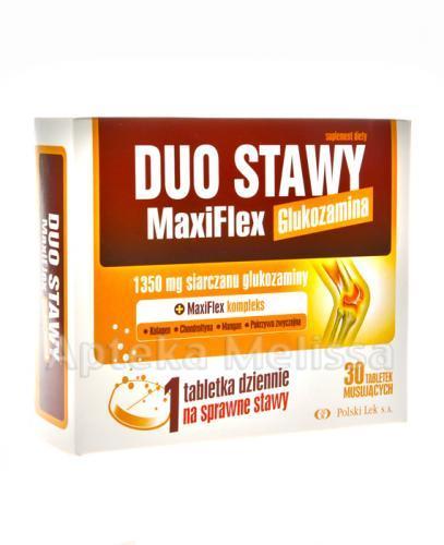 DUO STAWY MaxiFlex Glukozamina - 30 tabl. mus. - Drogeria Melissa