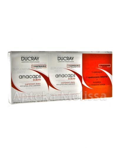 DUCRAY ANACAPS TRI-ACTIV-  3 x 30 kaps. - Apteka internetowa Melissa