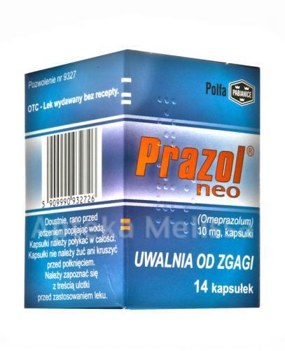 PRAZOL NEO 10 mg - 14 kaps. - Apteka internetowa Melissa