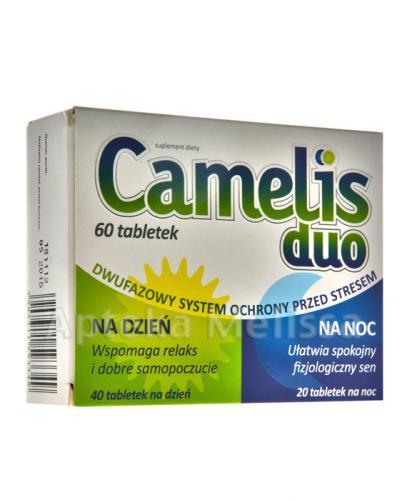 CAMELIS DUO - 40 tabl. na dzień + 20 tabl. na noc - Apteka internetowa Melissa