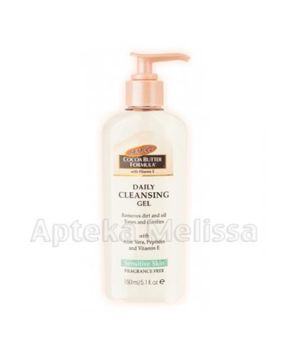 PALMERS Żel oczyszczający do twarzy - 150 ml - Apteka internetowa Melissa