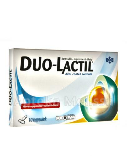 DUO-LACTIL - 10 kaps.  - Apteka internetowa Melissa