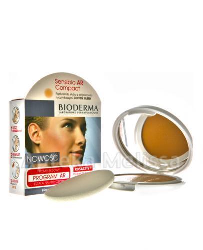 BIODERMA SENSIBIO AR Compact SPF30/UVA16 Podkład do skóry z problemami naczynkowymi odcień jasny - 1 - Apteka internetowa Melissa