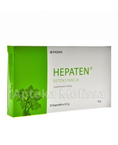 HEPATEN Detoksykacja - 20 kaps. - Apteka internetowa Melissa