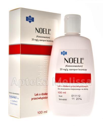 NOELL Szampon leczniczy - 100 ml - Apteka internetowa Melissa