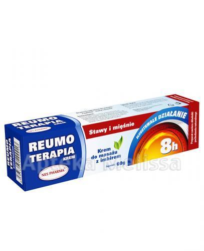 REUMO TERAPIA Krem do masażu z imbirem - 60 g - Drogeria Melissa