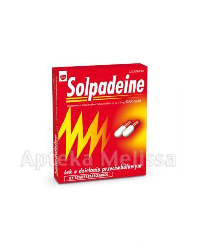 SOLPADEINE - 12 kaps. - Apteka internetowa Melissa