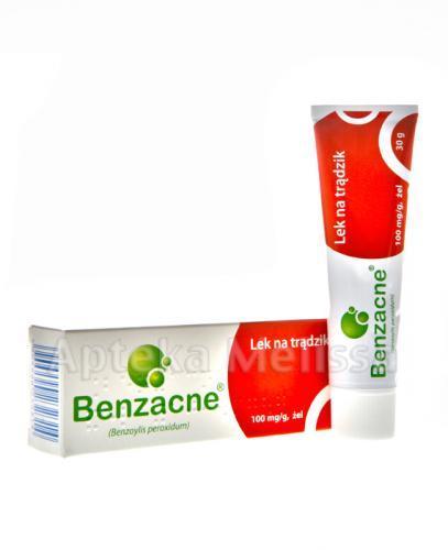 BENZACNE  Żel 0,10 mg - 30 g. Lek na trądzik. - Apteka internetowa Melissa