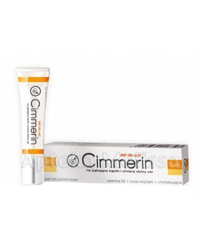 CIMMERIN Żel na pękające kąciki i zmiany skóry ust - 5 ml - Drogeria Melissa