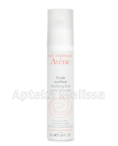 AVENE Nawilżający fluid matujący - 50 ml