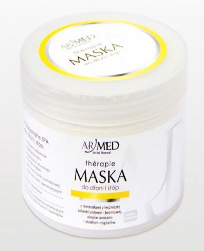 ARMED Naturalna Maska do stóp  i dłoni z leczniczą solanką jodowo- bromową i olejem z avocado - 200 ml  - Apteka internetowa Melissa