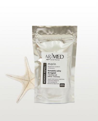 ARMED Morska Kąpiel Kompleks solny do kąpieli z leczniczej soli jodowo-bromowej - 140 g - Apteka internetowa Melissa