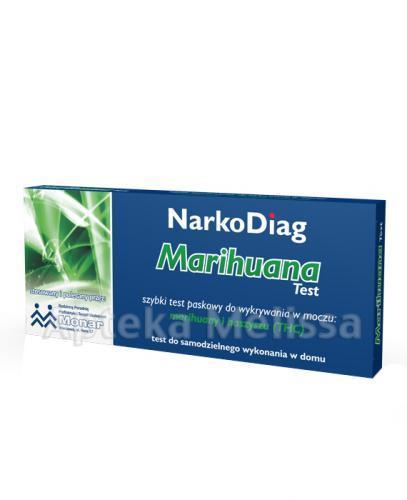 TEST NARKODIAG Marihuana - 1 szt. Data ważności: 2016.11.30