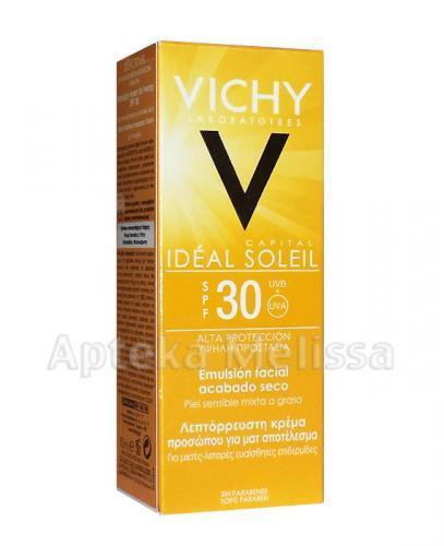 VICHY CAPITAL IDEAL SOLEIL Matujący krem/emulsja do twarzy SPF30 - 50 ml