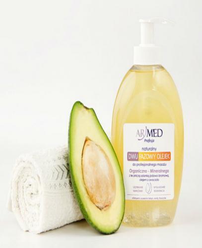 ARMED Naturalny dwufazowy olejek do masażu ujędrniającego - 320 ml - Apteka internetowa Melissa