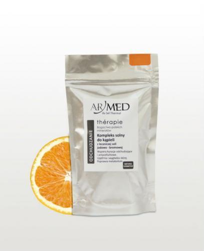 ARMED Odchudzanie Kompleks solny do kąpieli z leczniczej soli jodowo-bromowej - 140 g