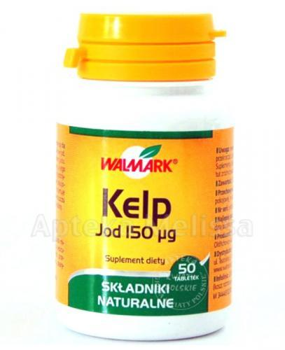 WALMARK KELP 150 mg - 50 tabl. - Apteka internetowa Melissa