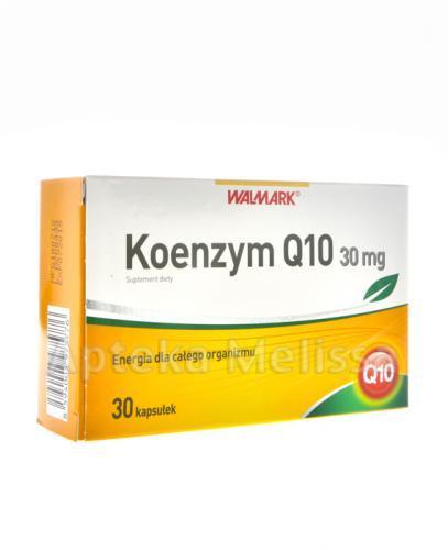 WALMARK KOENZYM Q10 30 mg - 30 kaps. Data ważności: 2018.07.31 - Apteka internetowa Melissa
