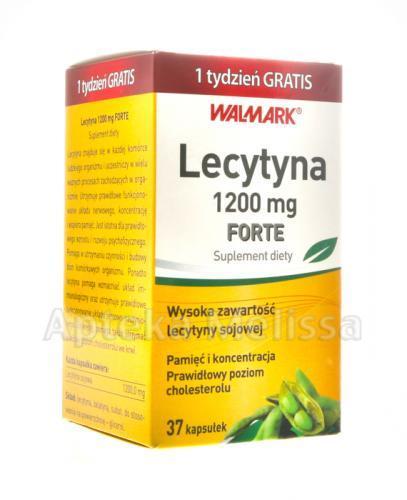 WALMARK LECYTYNA FORTE 1200 mg - 37 kaps. - Apteka internetowa Melissa