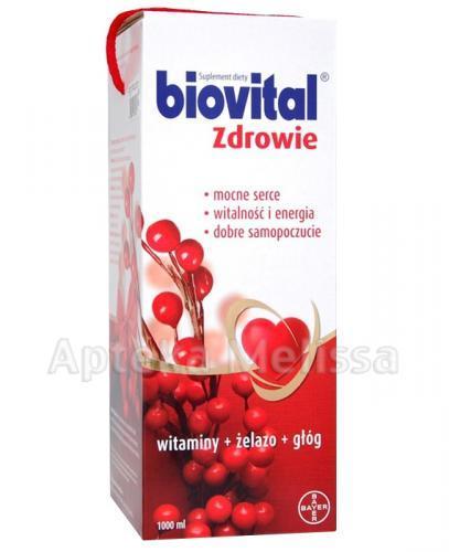 BIOVITAL Zdrowie płyn - 1000 ml - Apteka internetowa Melissa