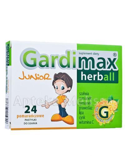 GARDIMAX HERBALL JUNIOR - 24 past. - Drogeria Melissa