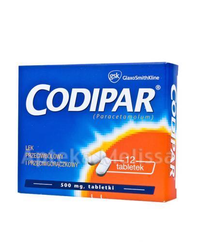 CODIPAR - 12 tabl.  - Apteka internetowa Melissa